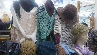 手編みニット